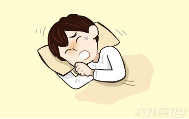 발열,기침,인후통,근육통 등 몸이 아프면 집에있기